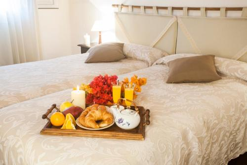 A bed or beds in a room at Eco Finca Vista Bonita