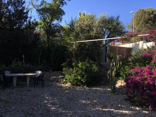 Jardin de l'établissement Villa Eria