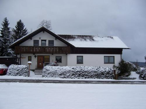 Ferienwohnung am Weissenstädter See im Winter