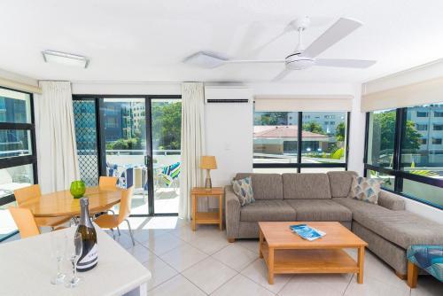 A seating area at Beach Club Resort Mooloolaba