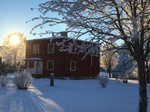 Vakantiehuis Björn during the winter