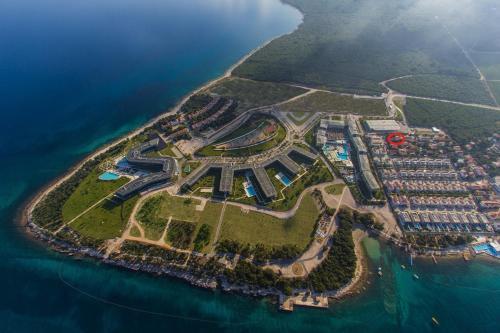 Vue panoramique sur l'établissement Apartments Irena Punta Skala