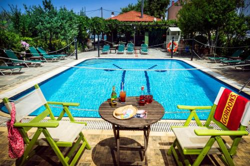 The swimming pool at or near Green Sea Apartments