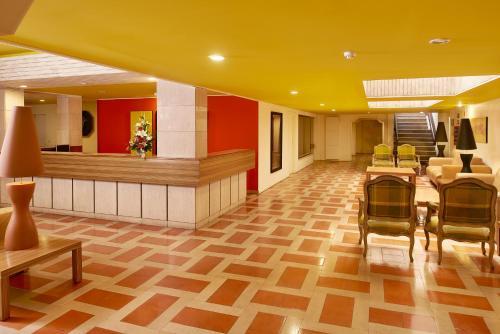 De lobby of receptie bij Cheerfulway Acqua Maris Balaia