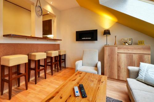 The lounge or bar area at Apart Hotel Villas Ivica