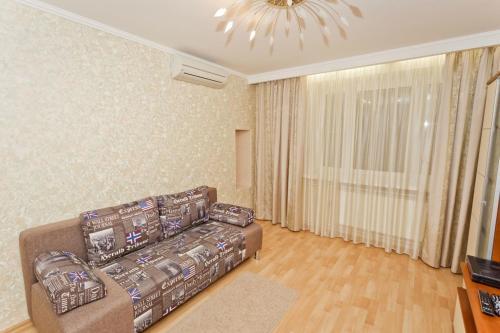 A seating area at Zvezdinka 7 Apartment