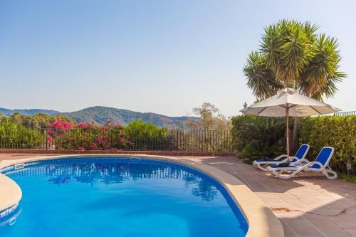 The swimming pool at or near Villa Bellavista (Bengala)
