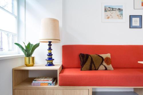 Zona de estar de Kith & Kin Boutique Apartments