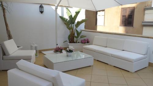 Area soggiorno di Best Suite Purgatorio
