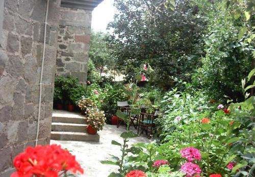 A garden outside Marianthi Toroz Rooms & Studios
