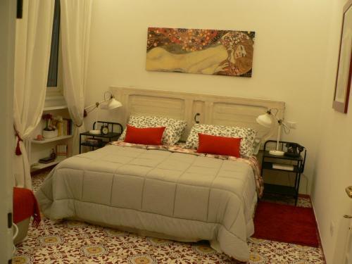 Postelja oz. postelje v sobi nastanitve Casa Di Giovanna