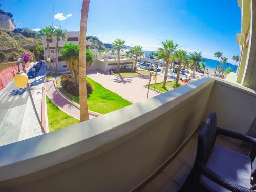 Балкон или терраса в Burriana Beach Apartment