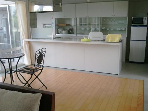 ザ・グリーンテラスにあるキッチンまたは簡易キッチン