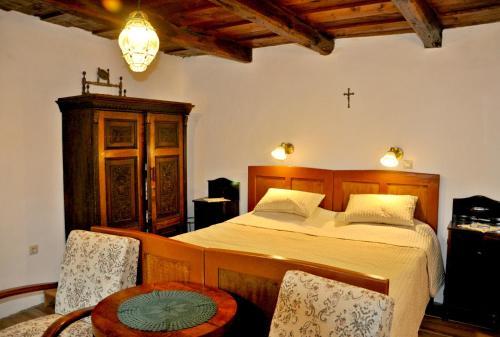 Posteľ alebo postele v izbe v ubytovaní Nefelejcs Vendégház
