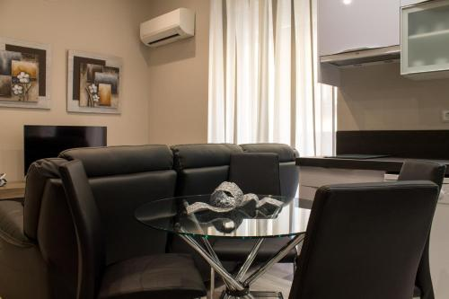 Зона вітальні в Noviciado Apartment