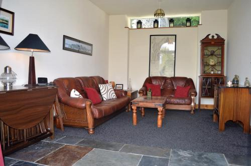 A seating area at Craigiemichael Coach House