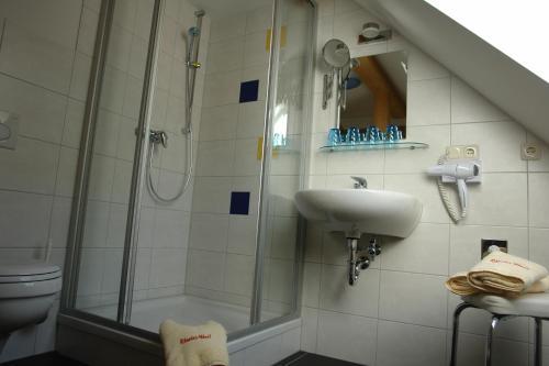 Ein Badezimmer in der Unterkunft Räucher-Häusl