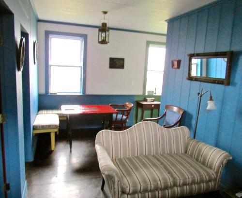 A seating area at The Keepers Cottage