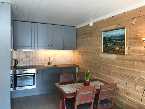 A kitchen or kitchenette at Rondaplassen