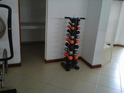 The fitness center and/or fitness facilities at Residence Plaza Flat