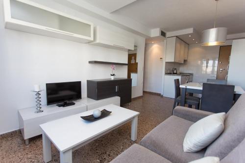 Setusvæði á Pio XII Apartments Valencia