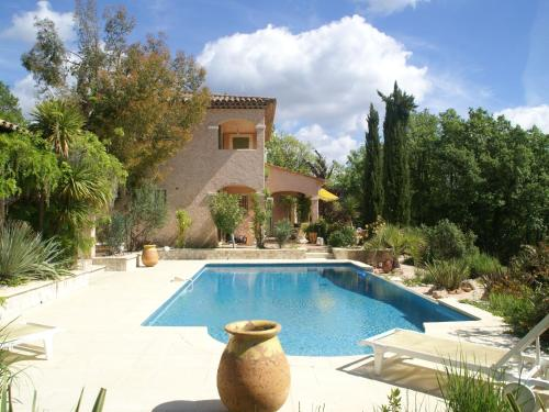 The swimming pool at or near Luxury Villa in Flayosc with Hill Swimming Pool