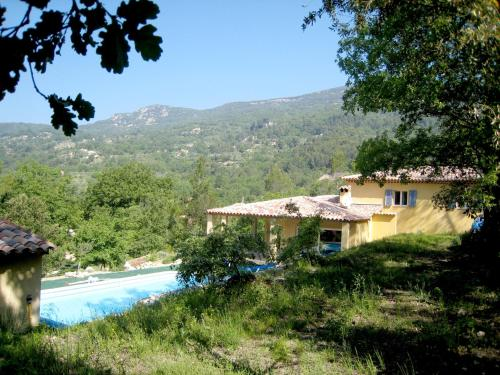The swimming pool at or near Elite Villa with Swimming Pool in Bargemon, Provence