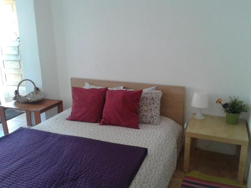 A bed or beds in a room at Casas Botelho Elias