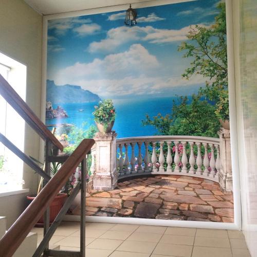 A balcony or terrace at Lenkost Motel