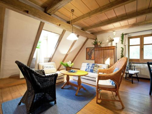 A seating area at Farm stay Rohrberghof 2