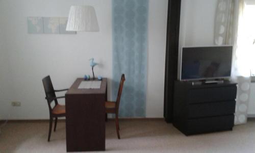 TV/Unterhaltungsangebot in der Unterkunft Gemütliche Ferienwohnung