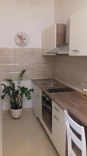 A kitchen or kitchenette at Apartment Lili