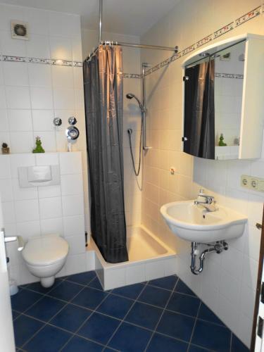 Ein Badezimmer in der Unterkunft Apartment Haugerkirchgasse