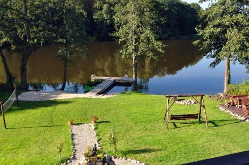 Ogród w obiekcie Mazurski Raj - Luksusowa Turystyka