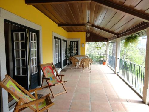 A balcony or terrace at Quinta da Locaia