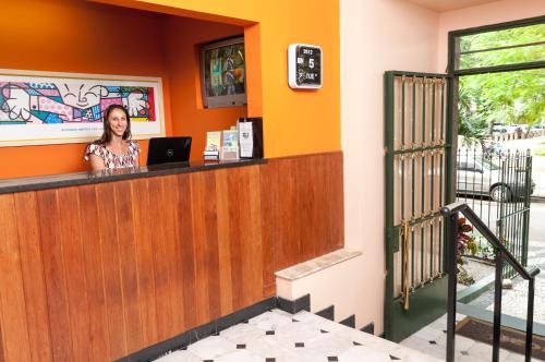 The lobby or reception area at Jucati Season Apartments