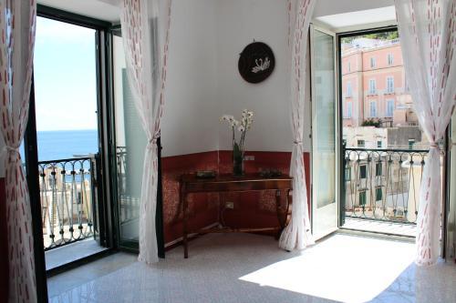 A balcony or terrace at Casa Nova