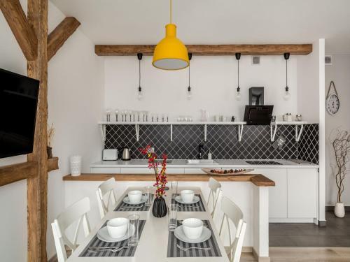 Kuchnia lub aneks kuchenny w obiekcie TatryTop Nellin Granitica