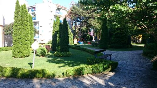A garden outside Complex Elit 1
