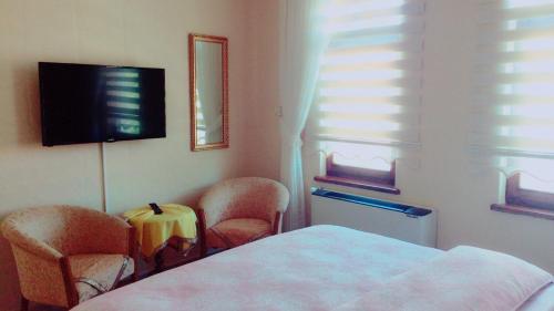 Lova arba lovos apgyvendinimo įstaigoje Hisar Apart & Pansiyon