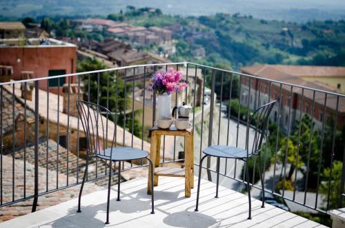 A balcony or terrace at Dimora Dell'Erbe Apartment