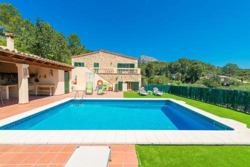 The swimming pool at or near Can Perxota