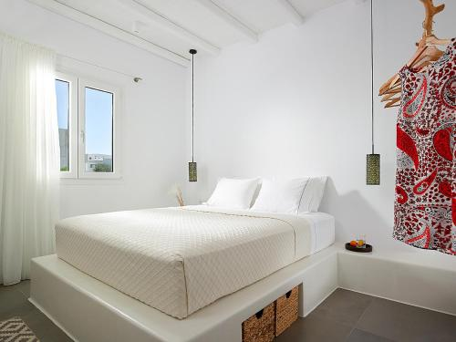 A bed or beds in a room at Villa Vipera