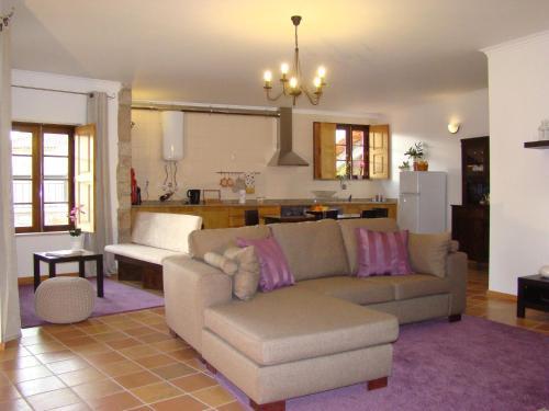 Uma área de estar em Casa de Campo Patio do Avo