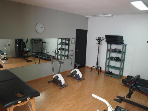 מרכז הכושר ו/או מתקני הכושר ב-Aparthotel Bertrán