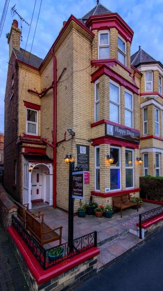 Happy Days Guesthouse in Bridlington, East Riding of Yorkshire, England