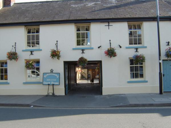 Borderers Guest House in Brecon, Powys, Wales