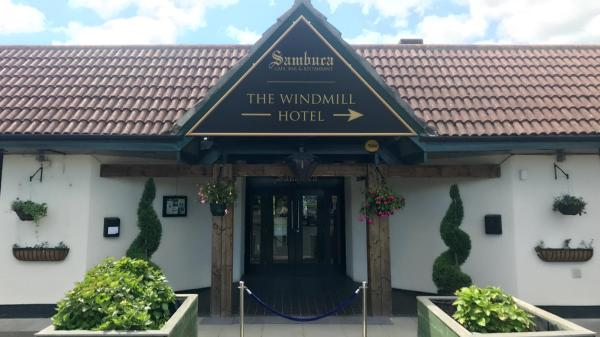 The Windmill Hotel in Elwick, County Durham, England