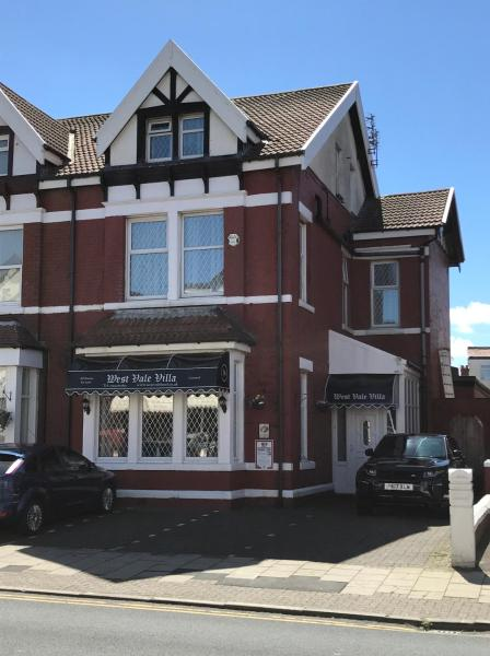 West Vale Villa in Blackpool, Lancashire, England
