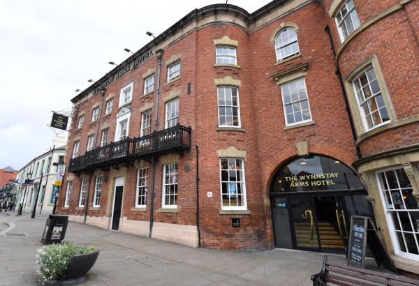 The Wynnstay Arms Hotel by Marston's Inns in Wrexham, Wrexham, Wales